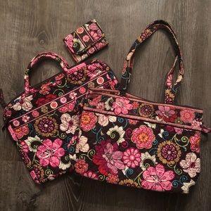 🌺 Vera Bradley Mod Floral Pink Bundle 🌺